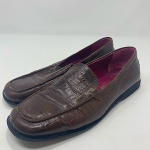 Andre Assous Women's Brown Slip On Shoes Size B103